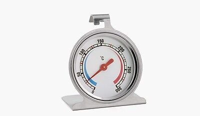 Weis Backofen- Thermometer Ofenthermomter Edelstahlthermometer 0-300°C