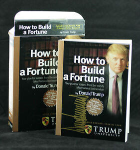 President Donald Trump SIGNED AUTOGRAPHED How To Build a ...