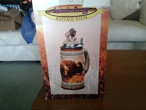 Anheuser-Busch-Animals-of-the-Prairie-buffalo-Stein