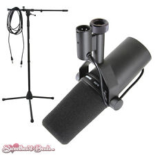 Shure SM7B Vocal Microphone - Large Diaphragm Cardioid Dynamic Mic Bundle