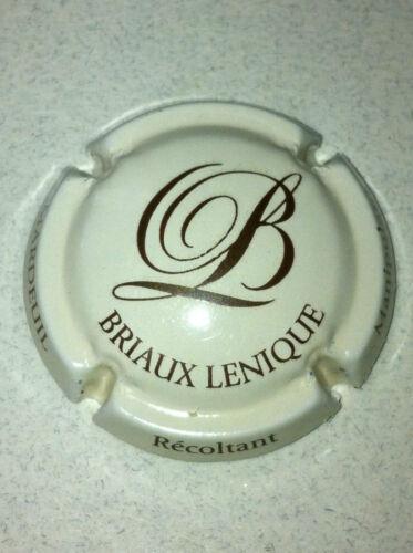 9. crème et marron Capsule de champagne BRIAUX-LENIQUE