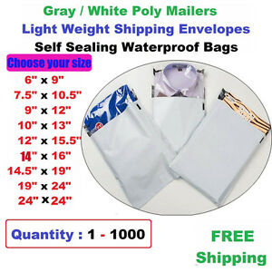 c1974d13046 Image is loading Wholesale -Poly-Mailers-Shipping-Envelopes-Plastic-Self-Seal-