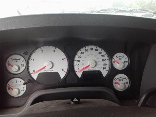 09 Dodge Ram AT 2500 3500 6.7 diesel speedometer instrument gauge panel cluster