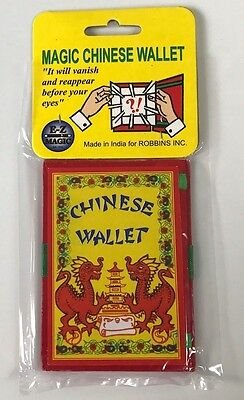 MAGIC CHINESE WALLET Vanishing Coin Swap Himber Magic Trick Change Switch Money