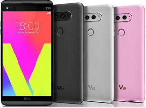 LG V20 H910 (AT&T) H918 (T-Mobile) VS995 (Verizon) 4G LTE 4GB + 64GB Single SIM