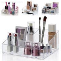 Makeup Palette Storage Organizer Cosmetics Stand Nail Polish Holder Plastic Case