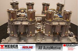 Details about Ford 429 / 460 Weber 48IDA kit w/manifold, linkage, & 4  genuine 48 IDA webers