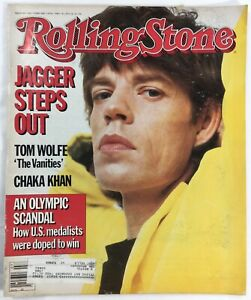 1985-ROLLING-STONE-Vintage-Magazine-No-441-Mick-Jagger-Rolling-Stones-February
