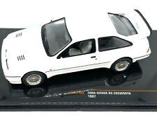 IXO CLC310 FORD SIERRA RS COSWORTH diecast model road car white 1987 1:43rd