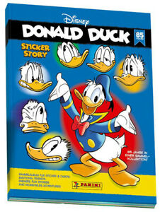 Panini-Disney-85-Jahre-Donald-Duck-Sammelsticker-1-Album