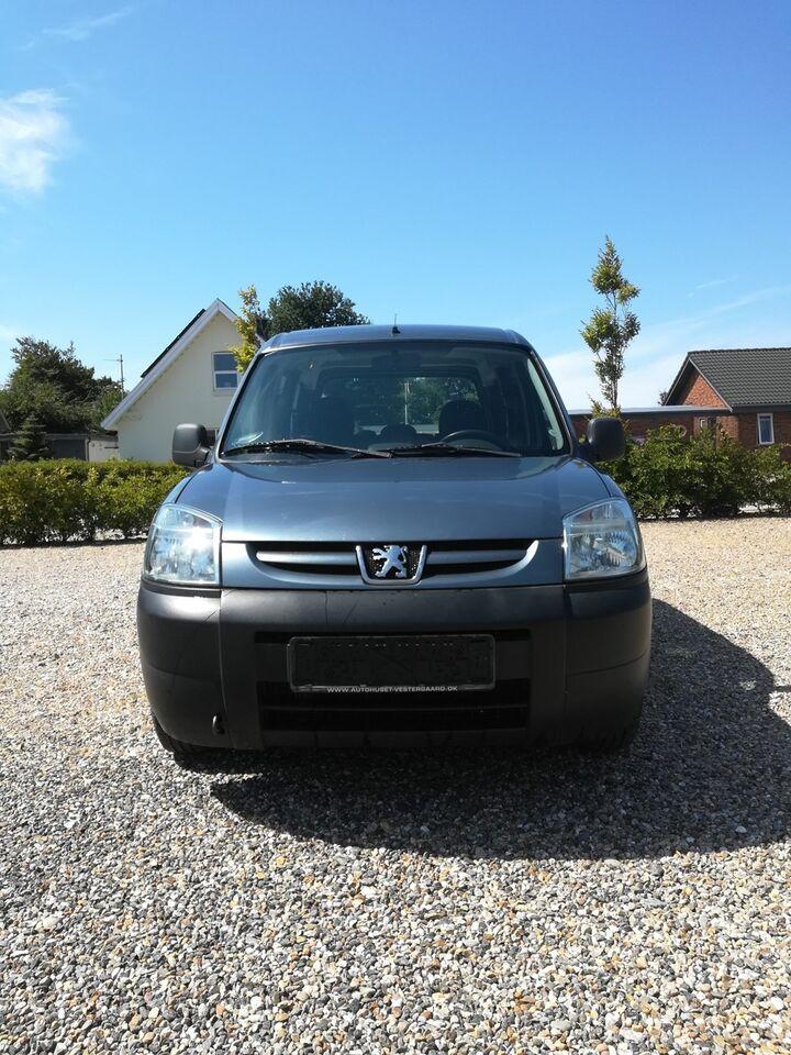 Peugeot Partner 1,6 HDi 75 Combi XR Diesel modelår 2007 km