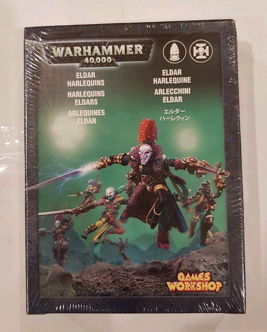 6 x Eldar Harlequins Mint metal modelllllerlerler NY låda, förseglad RARE warhammer 40k OOP