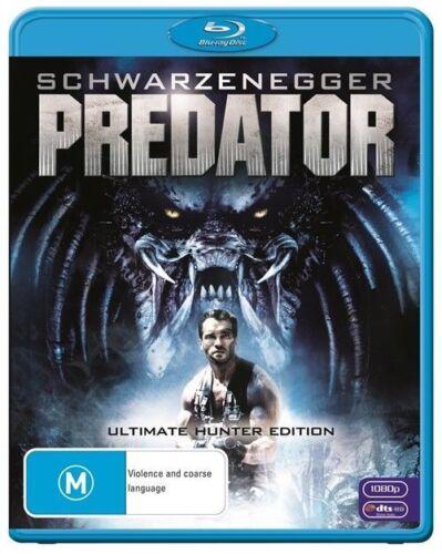 1 of 1 - Predator (Blu-ray, 1987) Ultimate Hunter Edition Arnold Schwarzenegger