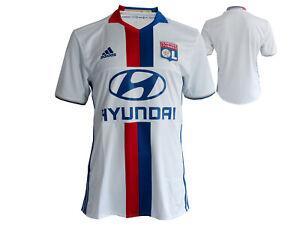 adidas-Olympique-Lyon-Home-Fussball-Trikot-OL-Fussball-Jersey-Ligue-1-S-XXL