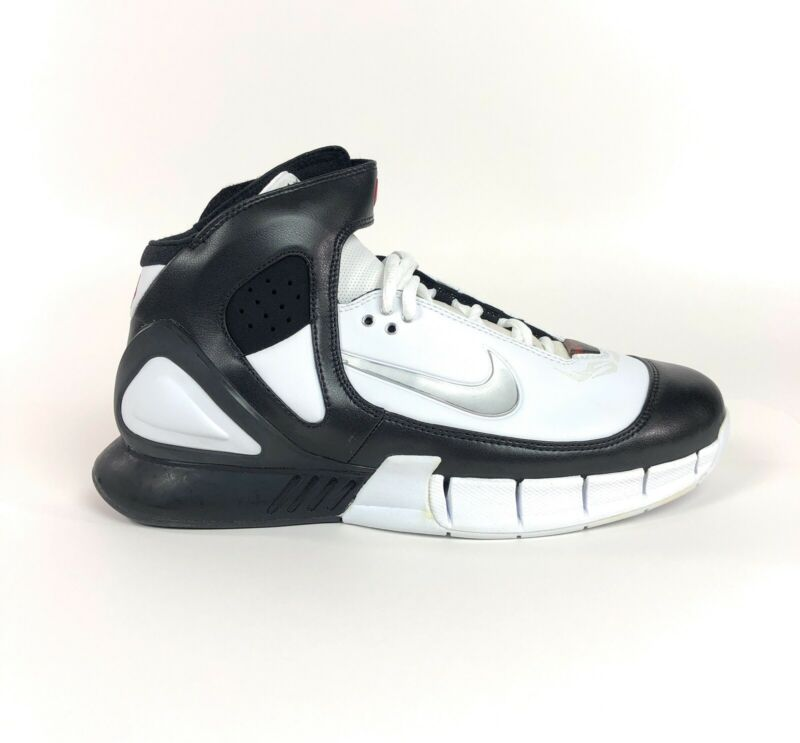 Nike Air Zoom Huarache 2k5 Mens Mid Basketball Shoes Size 9.5 Retro 310850-102