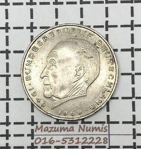 Mazuma *FC10 Germany Deutsche 1969 2 mark GEF Only