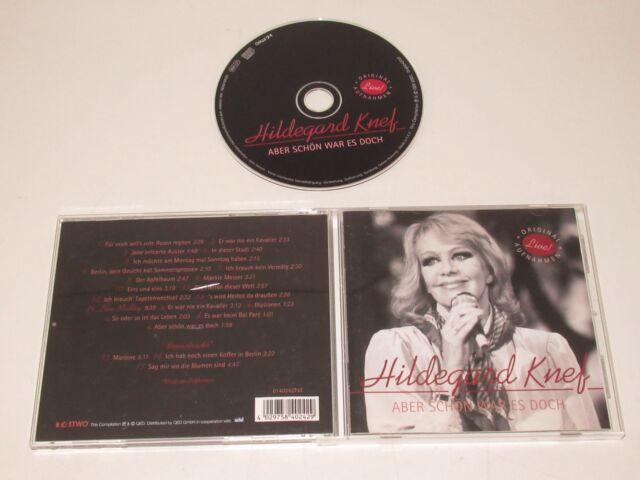 HILDGARD KNEF/ABER SCHÖN WAR ES DOCH(T4 TWO 0140242T4T) CD ALBUM