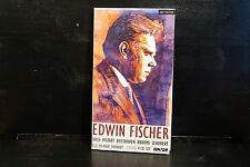 Edwin Fischer - Bach, Mozart, Beethoven, Brahms, Schubert    4 CD-Box