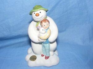 John-Beswick-The-Snowman-And-The-Snowdog-Kneeling-JBS16-Raymond-Briggs-NEW