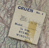Vintage Gruen Guild Caliber 700 Watch Movement Winding Stem Gruen Guild Conoruma