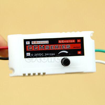 PWM Regulator DC Motor Speed Switch Controller 6V 12V 24V 3A Control Reversible