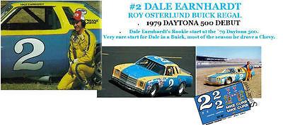 CD/_1063 #98 Dale Earnhardt Sr 1979 Chevy Monte Carlo  1:64 decals