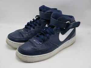 Details about Nike Air Force 1 Mid 07 Blue 315123 407 Men's Size 10 M