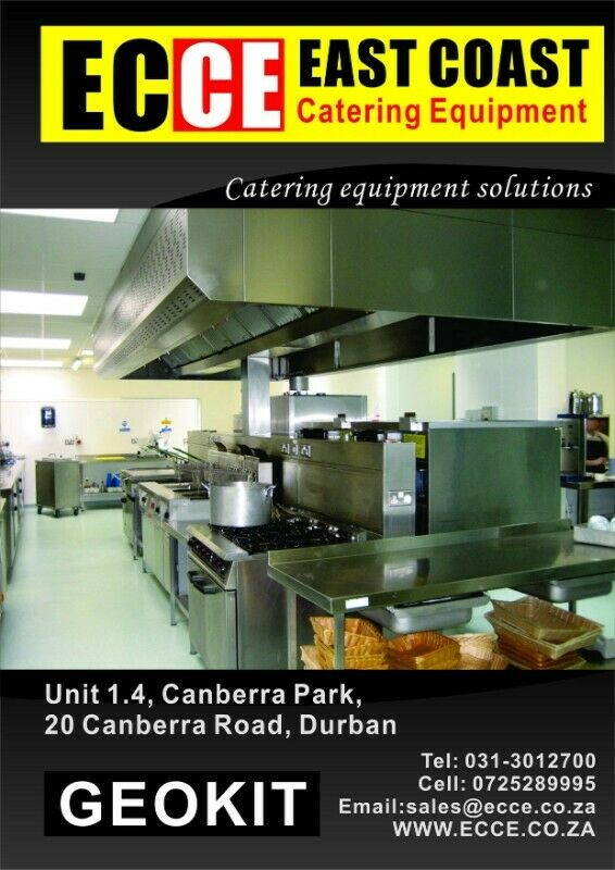 Industrial catering equipment-stainless steel items