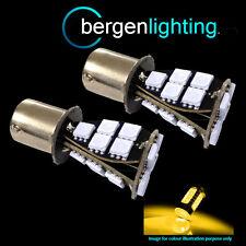 382 1156 BA15s 245 207 P21W AMBER 21 SMD LED REAR INDICATOR LIGHT BULBS RI201702