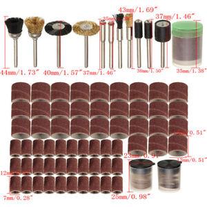 150Pcs-Rotary-Power-Tool-Fits-Dremel-1-8-034-Shank-Sanding-Polish-Bit-Set-G205M
