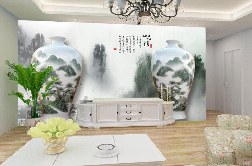 3D Antike Vase 857 Tapete Wandgemälde Tapete Tapeten Bild Familie DE Summer | Clever und praktisch  | Offizielle  | Perfekt In Verarbeitung