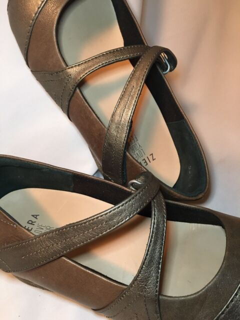 Ziera Super Support 39.5 XW Snare Mary Jane ballet flat