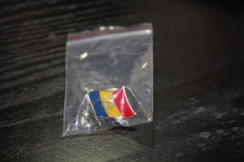 MOLDOVA Moldovan Metal Flag Lapel Pin Badge *NEW*
