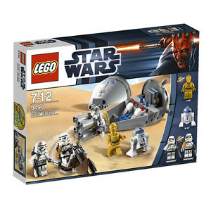 LEGO-Star-Wars-9490-Droid-Escape-w-4-Minifigures-Brand-New-Sealed