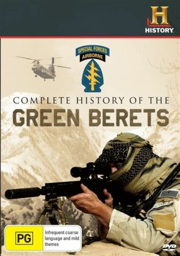 1 of 1 - A Complete History of the Green Berets NEW R4 DVD