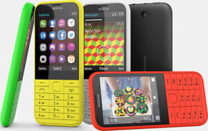 NOKIA 225 UNLOCKED MOBILE PHONE RED BLACK BLUE GREEN - DUAL SIM FAST DISPATCH
