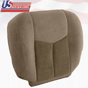 Chevy Silverado Replacement Seats >> Details About 2003 2004 Chevy Suburban 2500 Driver Bottom Cloth Replacement Seat Cover Tan