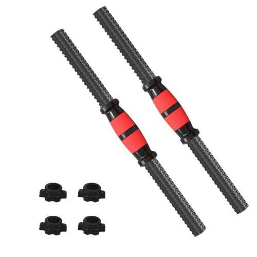 50cm Universal Dumbbells Dumbbell Bars Gym Barbells Strength Training Worko C8Q8