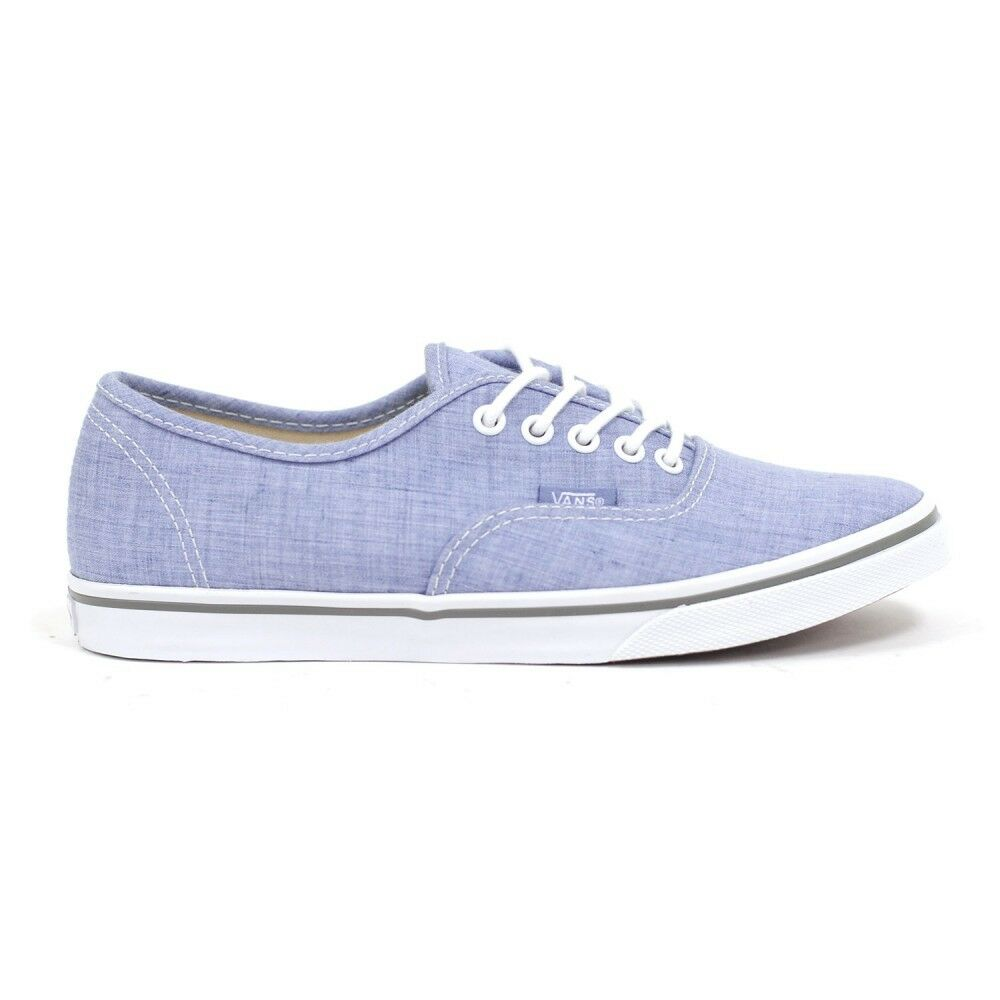 Vans Women's The Floral Chambray Buthentic Lo Pro Sneaker