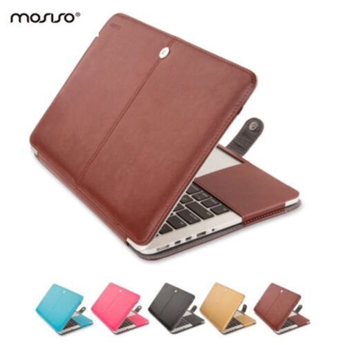 Mosiso PU Leather Cover Case for MacBook Pro Air 11 Mac Retina 12 Accessories