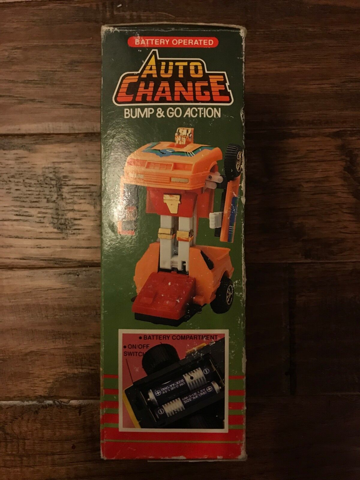 1985 Vintage Hung Chuk  AUTO CHANGE CHANGE CHANGE  (Battery Operated) Transformer Figure RARE  545406