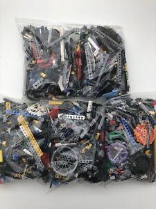 Genuine-Lego-Technic-500g-1-2kg-Mixed-Bundle-Bricks-Pins-Axles-Bushes-Parts-Bulk
