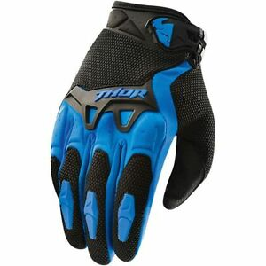 Guanto-Moto-Cross-Enduro-MTB-Thor-2016-Spectrum-Colore-Blu-TG-S