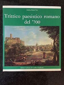 TRITTICO-PAESISTICO-ROMANO-DEL-039-700-A-Busiri-Vici-CREDITO-FONDIARIO-1973