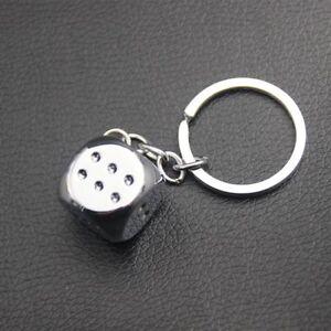 Metal-Dice-Alloy-Key-Holder-Pendant-Keychain-for-Car-Key-Ring-Man-Women-Gift