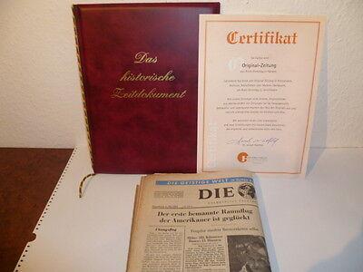 Historische Zeitung Die Welt Vom 06.05.1961 Original