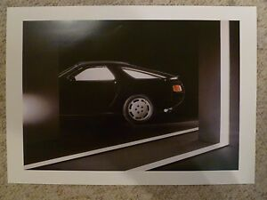 1983-Porsche-928-Coupe-Showroom-Advertising-Sales-Poster-RARE-Awesome-21x17