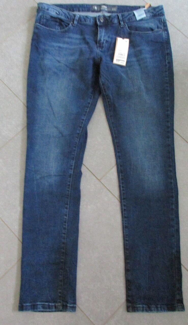S. Oliver Jeans Hose Modell Catie Slim Slim Slim dunkles blau Used-Waschung W 34 L 32 | Verrückter Preis, Birmingham  | Optimaler Preis  | Billig ideal  | Deutschland Store  fcce32