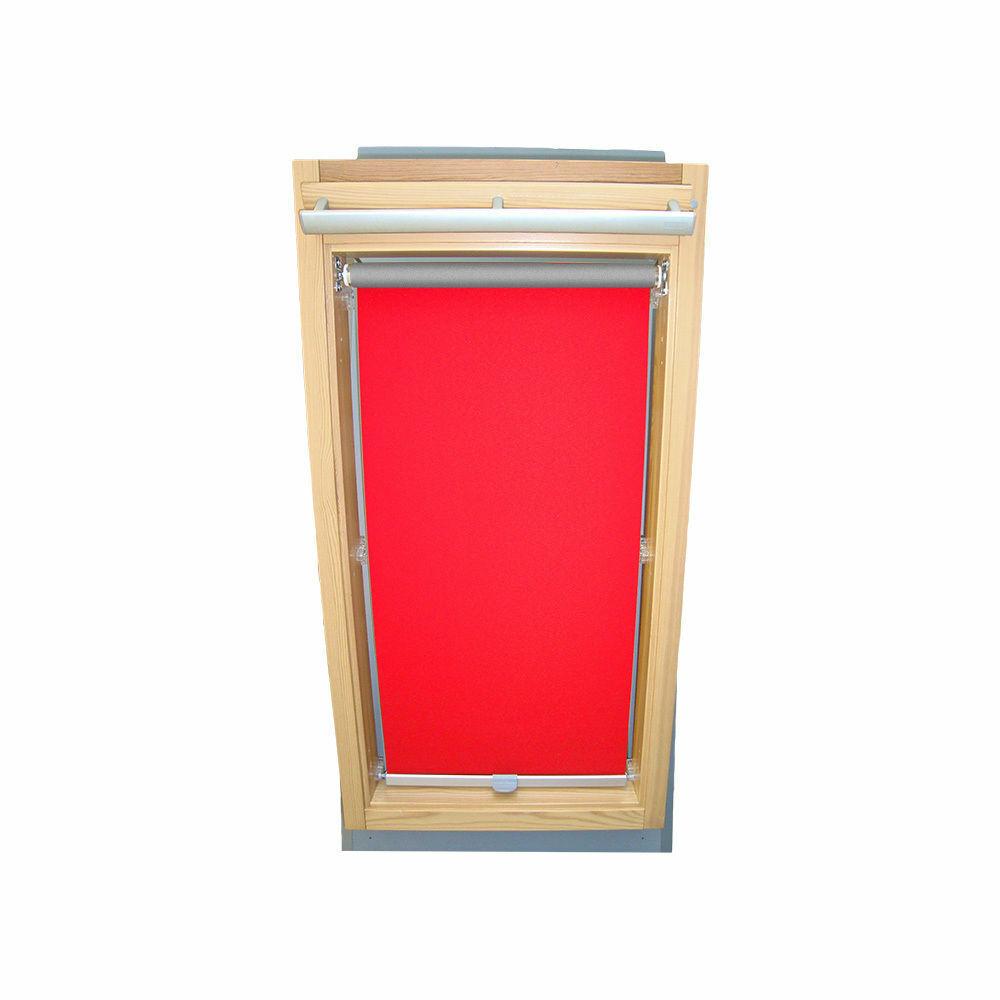 Abdunkelungsrollo Abdunkelungsrollo Abdunkelungsrollo Thermo Dachfensterrollo für Velux GGU GPU GHU - rot | Attraktive Mode  3eb978