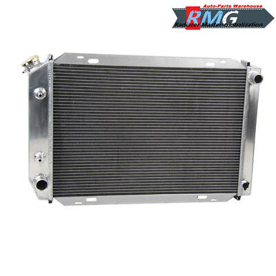 For 1979-1993 Ford Mustang 2.3L 5.0L 80 81 82 83 84 85 3-Row Aluminum Radiator